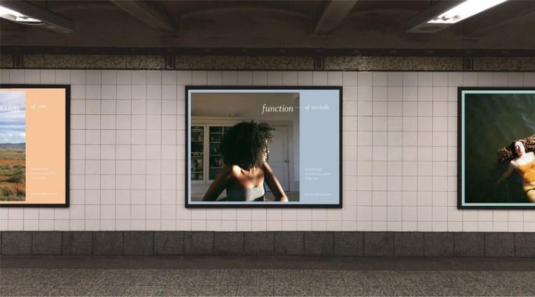 Айдентика, упаковка и сайт для бренда персонализированных средств по уходу за волосами Function of Beauty