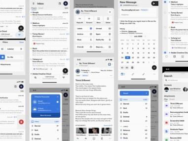 Аккупатный и приятный UI-дизайн Лю Юйхана, дизайнера из китайского города Чунцина