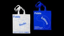 Харизматичная айдентика парижской студии ризограф-печати Fidele