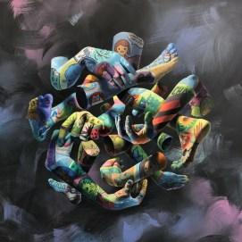 Картины и граффити Виктории Вейсбрут aka Викита из Калуги