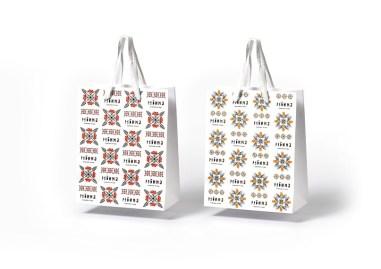 Тёплая ностальгическая айдентика линейки травяных чаёв Рябина с винтажными иллюстрациями и утилитарным оформлением с отсылкой к советской упаковке