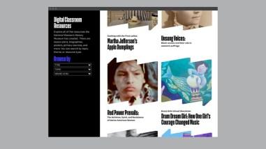 Пола Шер и Pentagram разработали шикарную айдентику онлайн-музея National Women's History