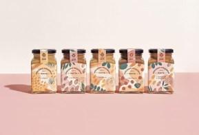 Упаковка линейки орехово-медовой пасты марки «Ореховый дом»