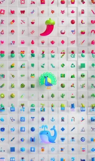 Новый дизайн эмодзи, разработанный для Microsoft в студии Tendril