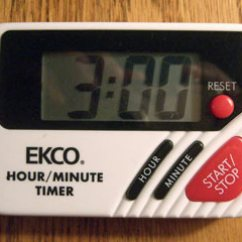 Digital Kitchen Timer What Is The Average Cost Of A Remodel Design In Daily Life: Timers - January 7, 2009