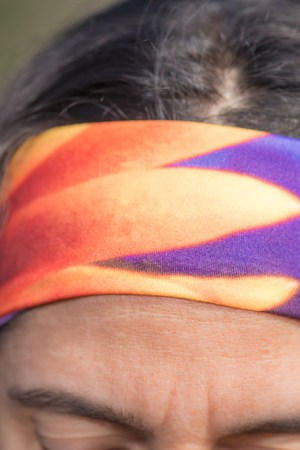 Spanish Shawl (Flabellina iodinea) Reversible Headband