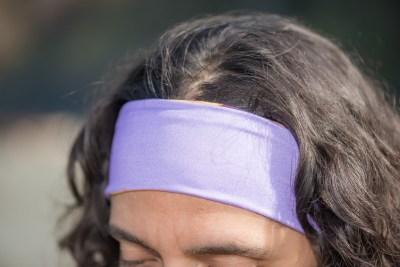 Spanish Shawl (Flabellina iodinea) Reversible Headband
