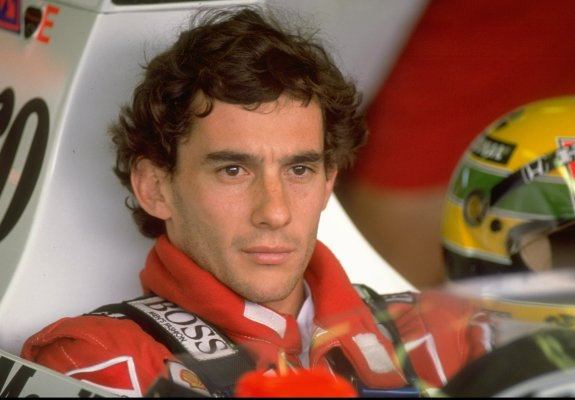 1989:  Portrait of Ayrton Senna of Brazil in his McLaren Honda before the Hungarian Grand Prix at the Hungaroring circuit in Budapest, Hungary. Senna finished in second place.  Mandatory Credit: Pascal  Rondeau/Allsport