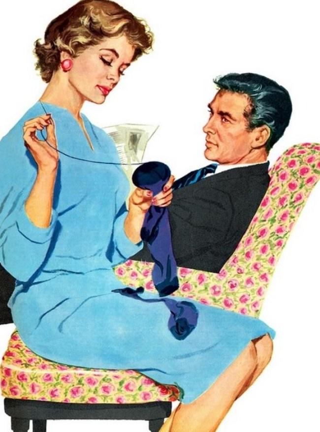 21 1 - DIA DA DONA DE CASA: Guia da 'boa esposa' dos anos 50 traz dicas de comportamento no lar