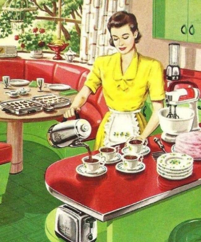 29 - DIA DA DONA DE CASA: Guia da 'boa esposa' dos anos 50 traz dicas de comportamento no lar