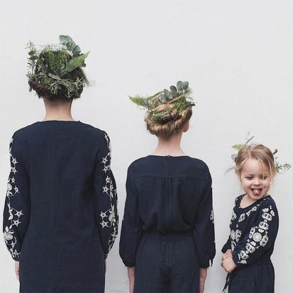 Mãe e filhas em fotos divertidas (4)