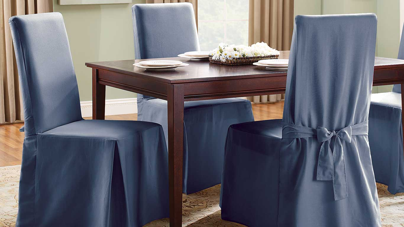 Plastic Chair Covers Best Dining Room Chair Covers Of 2018 For Elegance And