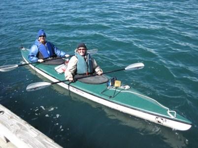 Kayaking at Glacier Bay NP, Alaska