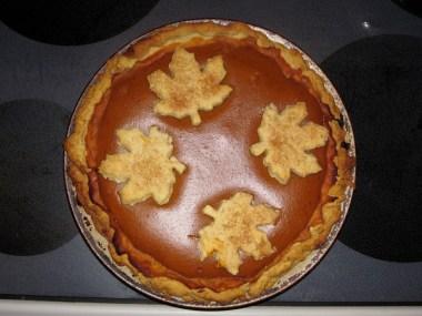 Yummm! Pumpkin pie!