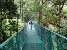 Selvatura hanging bridges, Monteverde Costa Rica
