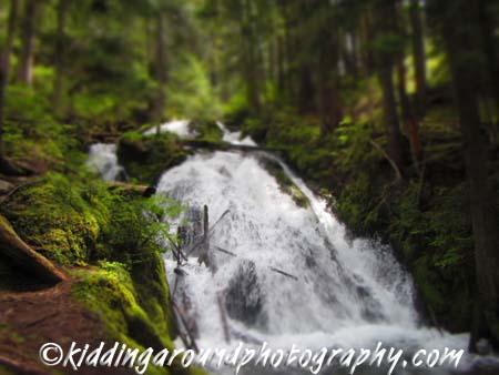 waterfall Mt. Hood
