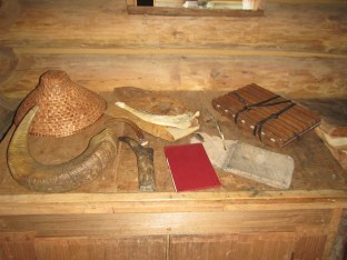 Authentic and replica artifacts abound