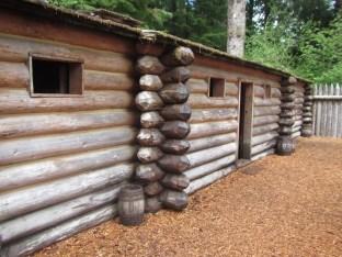 Replica of the original fort
