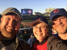 A crazy weekend to cheer on the Cubs