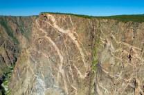 Black Canyon of the Gunnison NP's Dragon Wall