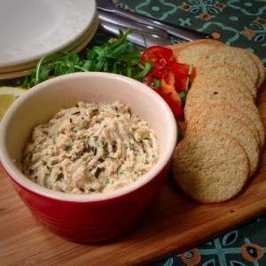This kipper pate is very easy to make and will make and ideal lunch or starter.