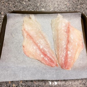 Using a filleting knife makes the task much easier