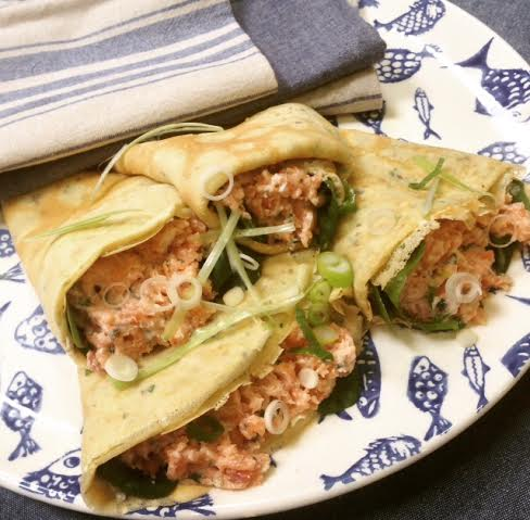 Dulse and Herb Crepes