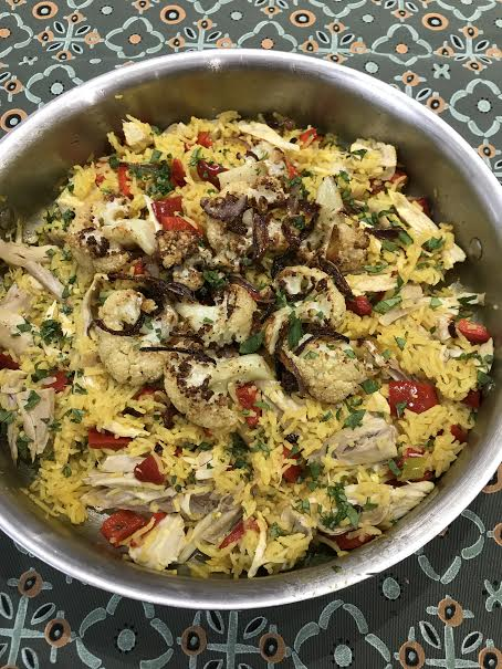 Chicken and Biryani cauliflower 3