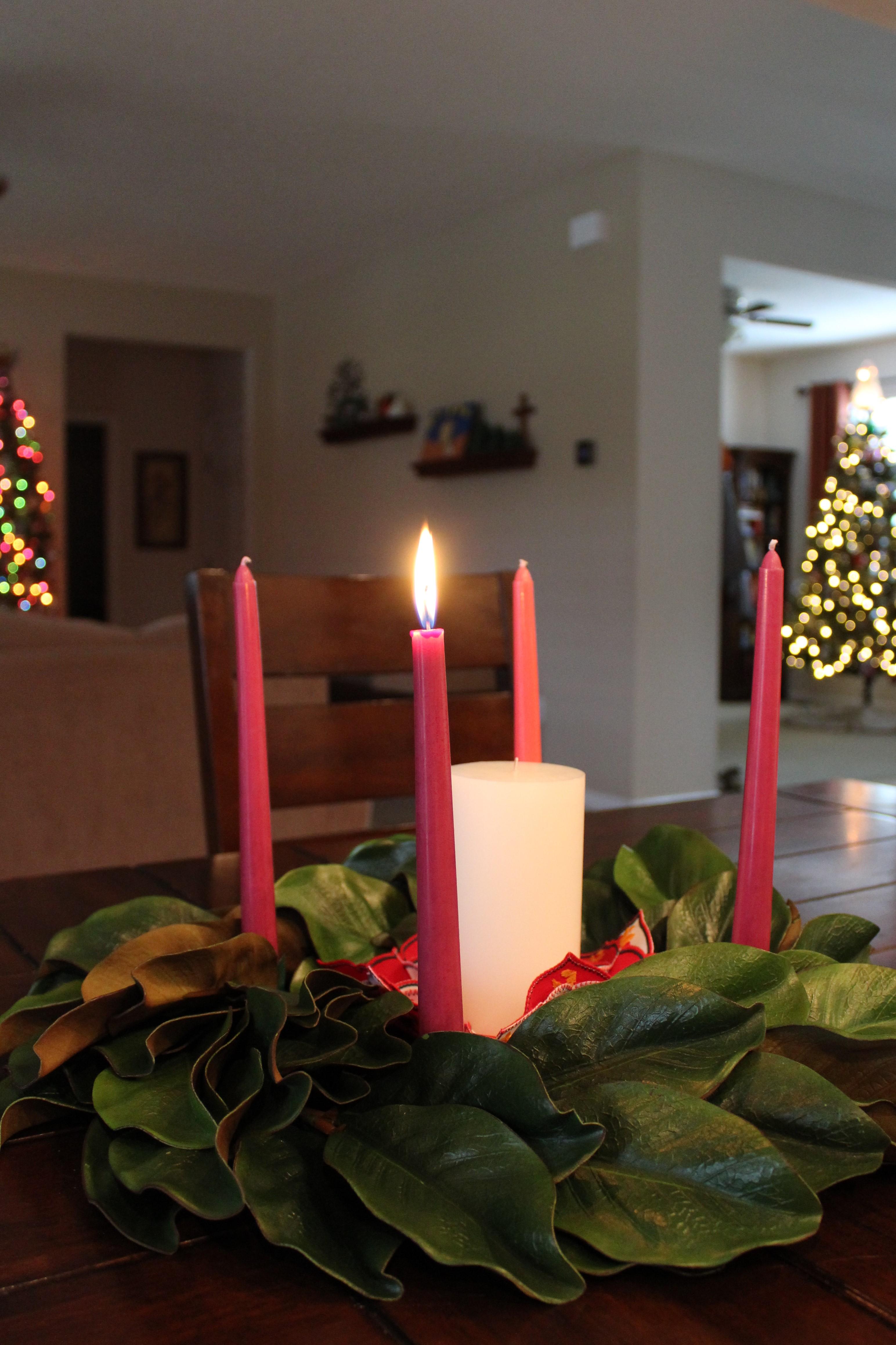 O Come Emmanuel Advent Wreath