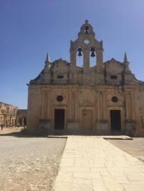 Church at the Arkadi Monastery