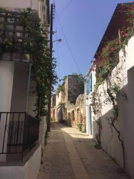 Side street in Margarites