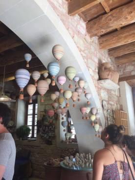 Inside a ceramics workshop in Margarites