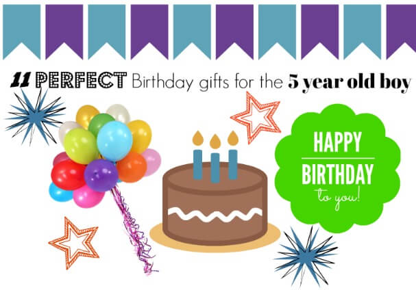Awesome Birthday Gift Ideas For An Active 5 Year Old Boy