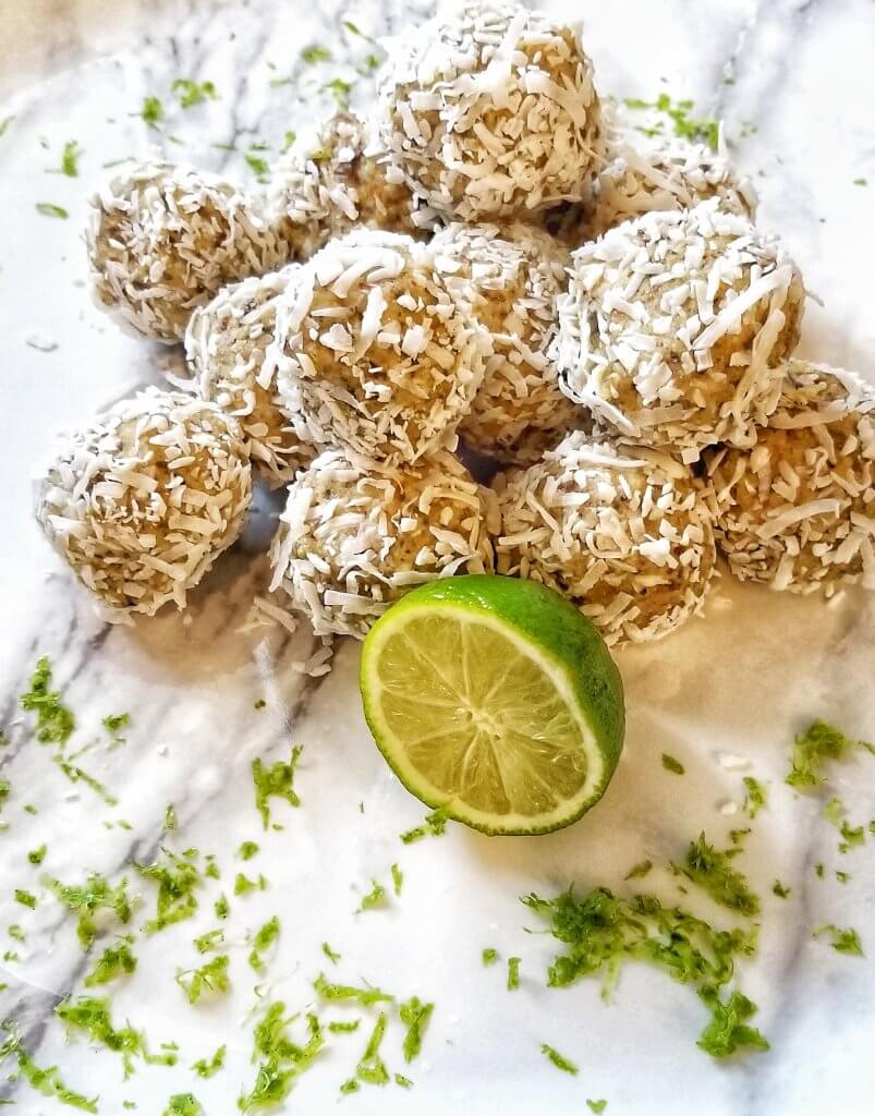 Mouthwatering Key Lime Energy Bites