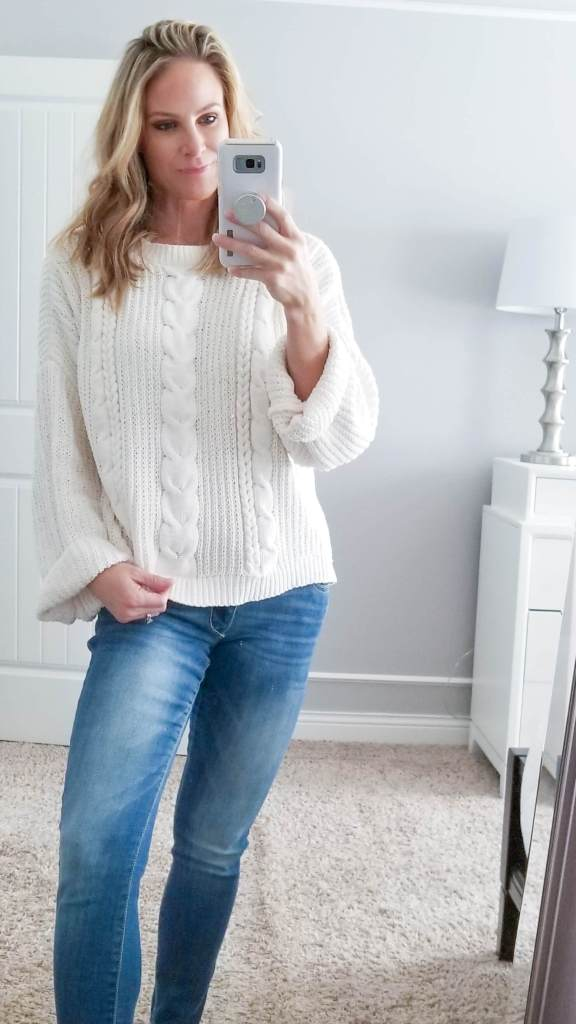 28c08b74705 My cream sweater is one of the softest sweaters that I own