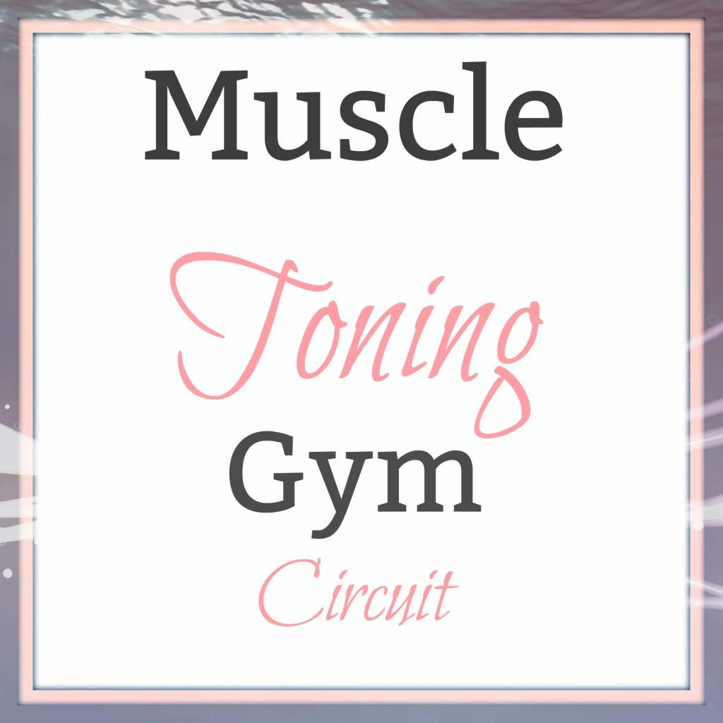 Muscle Toning Gym Circuit
