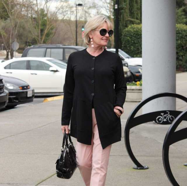 pink fashion for women over 50