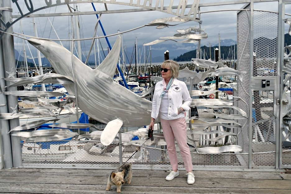Jennifer Connolly at Gibsons Marina