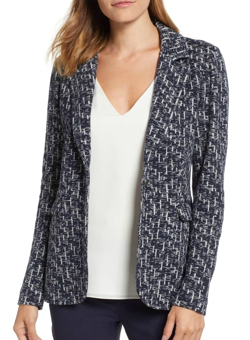 Soft knit jacket by Nic+Zoe from Nordstrom on A Well Styled Life
