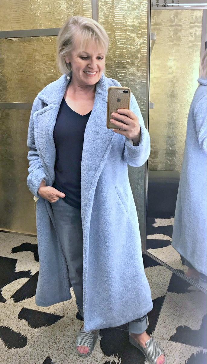Teddy Faux Fur Coat by Something Navy