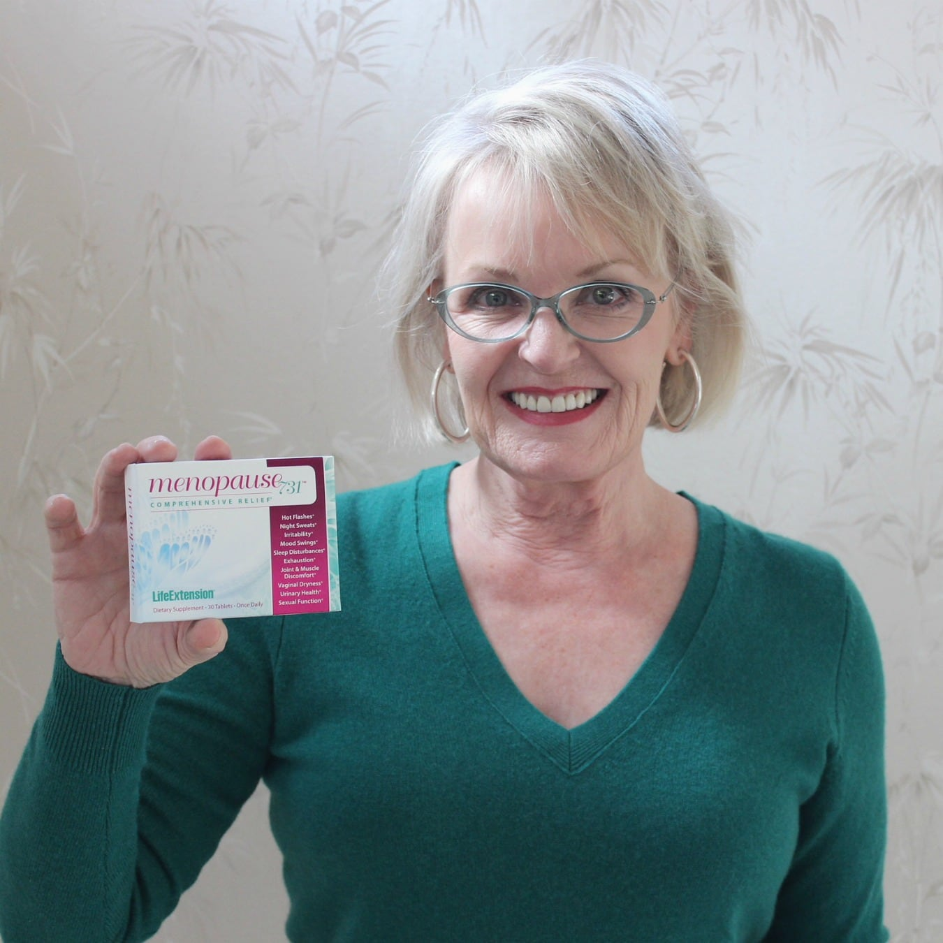Jennifer Connolly of A Well Styled Life trying Menopause 731 supplement