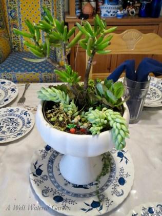 Kitchen Table Centerpiece - 4/16/17