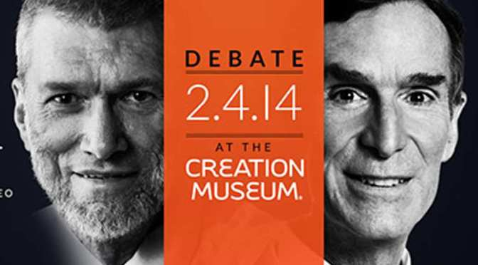 Bill Nye vs. Ken Ham and Other Major World Religions