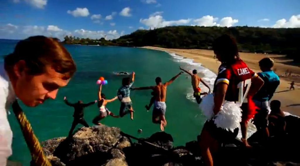 Waimea Cliff jump2
