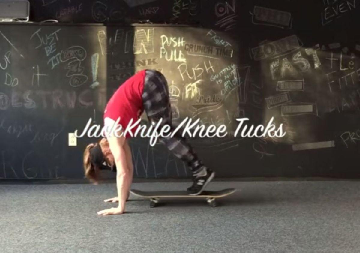 Rollend zum Waschbrettbauch - Fitness mit dem Skateboard