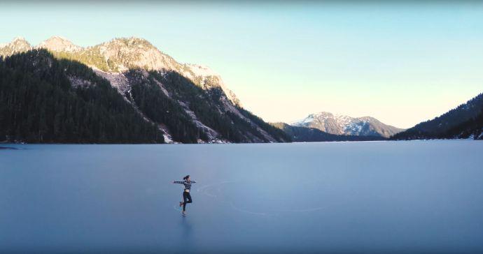 National Figure Skater mountains Screencap3