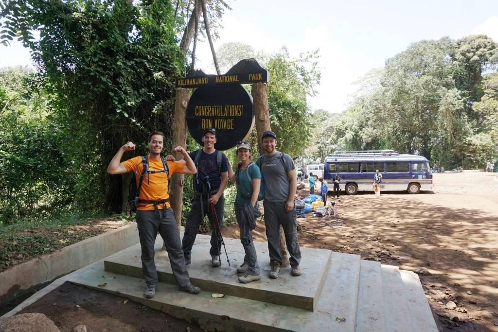 Kilimandscharo - Absteigen und Duschen!