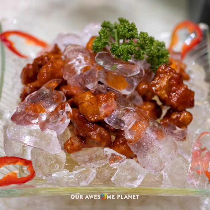 Iced Fried Spareribs
