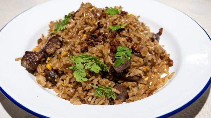 Wagyu Rice (Wagyu, Soy, Egg)