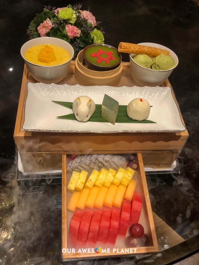 No. 8 China House Grand Dessert Platter